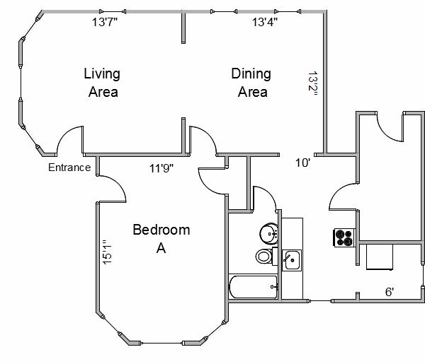 1 Bedroom 1 Bathroom Apartment for rent at 2430 Center Ave in Madison, WI