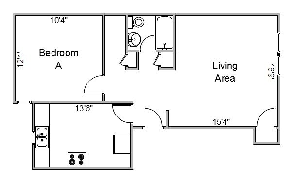 1 Bedroom 1 Bathroom Apartment for rent at 718 Harrison St in Madison, WI