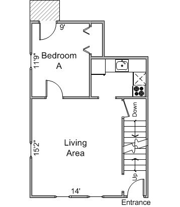 3 Bedrooms 1 Bathroom Apartment for rent at 21 E Gorham St in Madison, WI