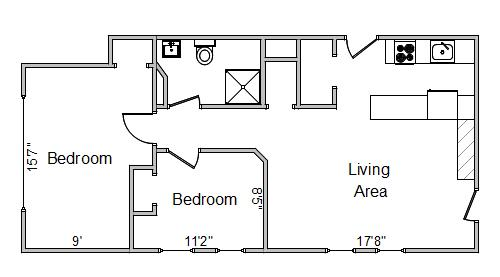 2 Bedrooms 1 Bathroom Apartment for rent at 250 Langdon St in Madison, WI