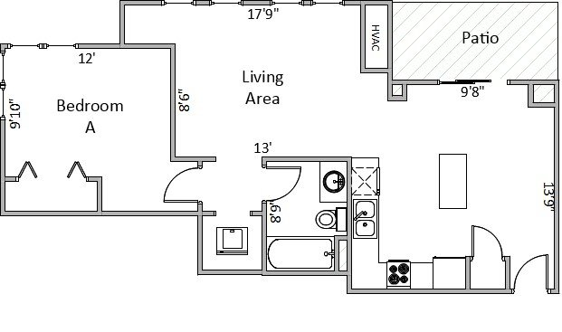 1 Bedroom 1 Bathroom Apartment for rent at 714 Harrison St in Madison, WI