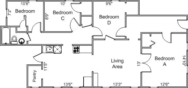 4 Bedrooms 1 Bathroom House for rent at 501 W Main St in Madison, WI