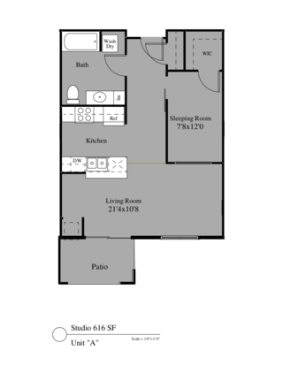 1 Bedroom 1 Bathroom Apartment for rent at 4305-4325 North Towne Court in Windsor, WI