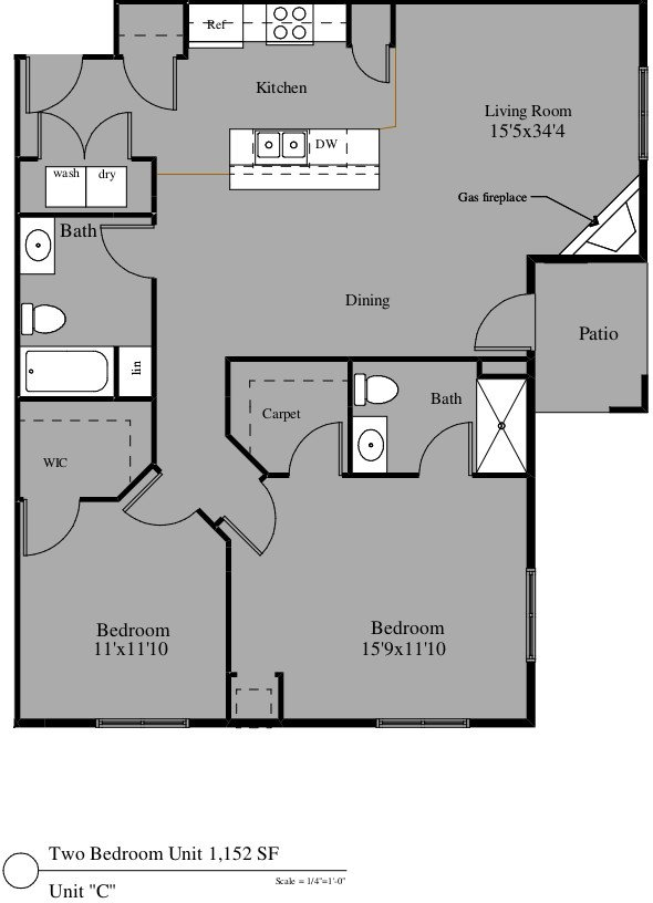 2 Bedrooms 2 Bathrooms Apartment for rent at 4305-4325 North Towne Ct in Windsor, WI