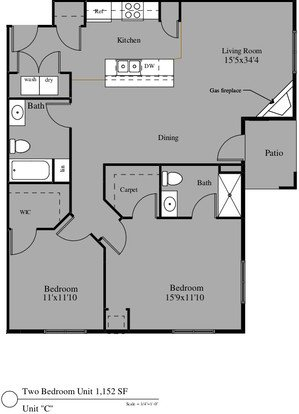 2 Bedrooms 2 Bathrooms Apartment for rent at 4305-4325 North Towne Court in Windsor, WI