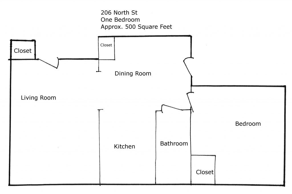 1 Bedroom 1 Bathroom Apartment for rent at 206 North St in Madison, WI