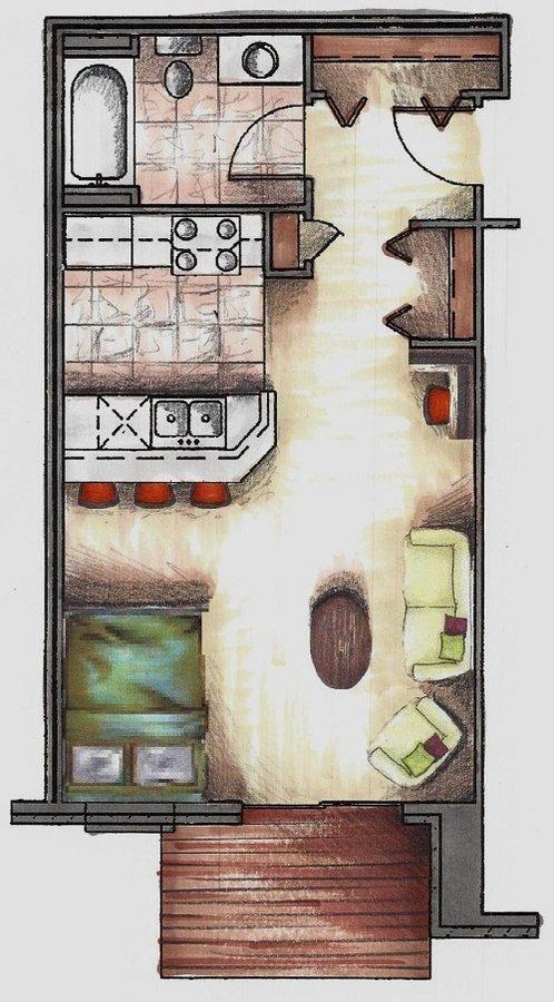 Studio 1 Bathroom Apartment for rent at Hunter's Creek in Sun Prairie, WI