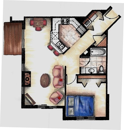 1 Bedroom 1 Bathroom Apartment for rent at Hickory Pointe in Madison, WI