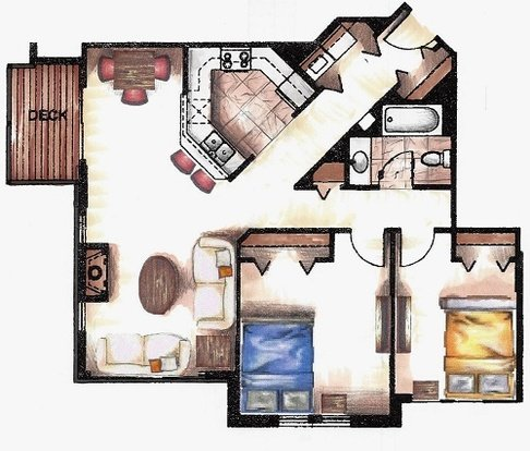 2 Bedrooms 1 Bathroom Apartment for rent at Hickory Pointe in Madison, WI