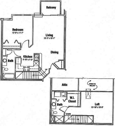 1 Bedroom 1 Bathroom Apartment for rent at Seminole Creek in Madison, WI