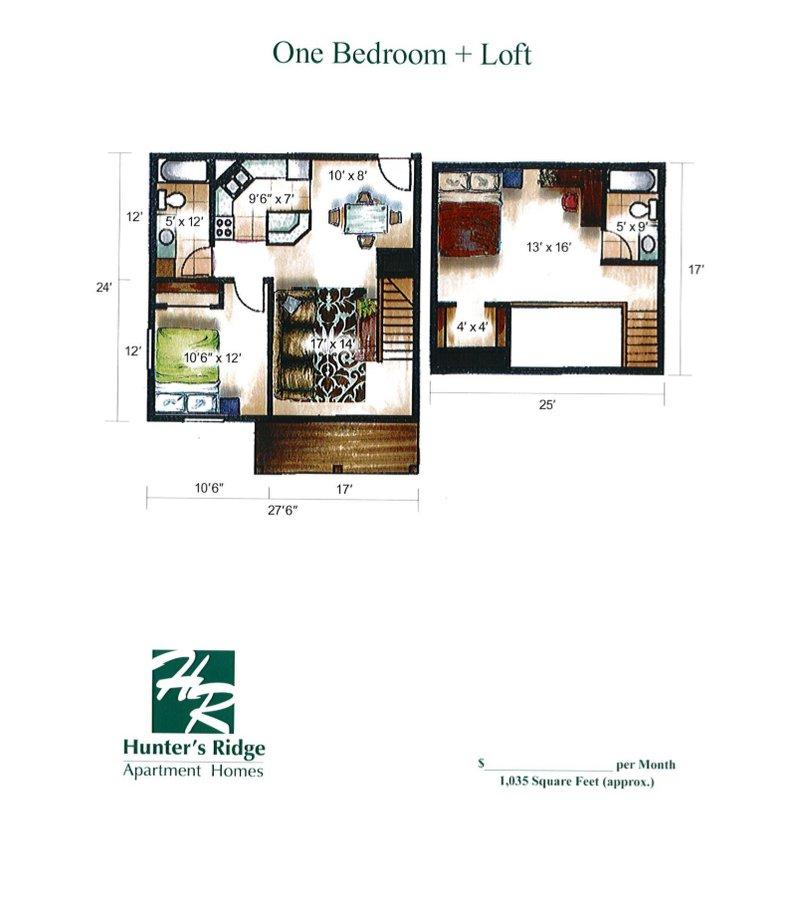 2 Bedrooms 1 Bathroom Apartment for rent at Hunter's Ridge in Sun Prairie, WI