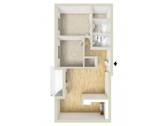 2 Bedrooms 2 Bathrooms Apartment for rent at Norriton East Apartments (015) in Norristown, PA