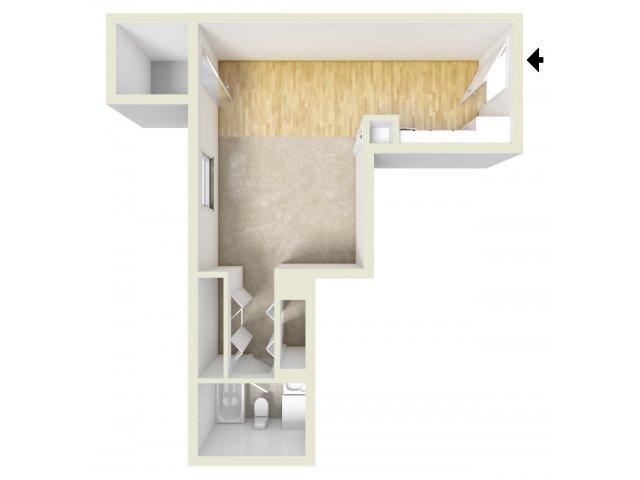 Studio 1 Bathroom Apartment for rent at Lansdowne Towers Apartments in Aldan, PA