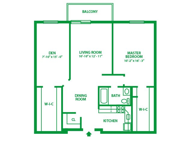 1 Bedroom 1 Bathroom Apartment for rent at Valley Forge Suites in King Of Prussia, PA