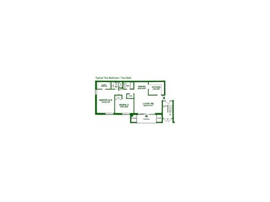 2 Bedrooms 2 Bathrooms Apartment for rent at Valley Stream Apartments in Lansdale, PA