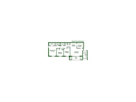 3 Bedrooms 2 Bathrooms Apartment for rent at Valley Stream Apartments in Lansdale, PA
