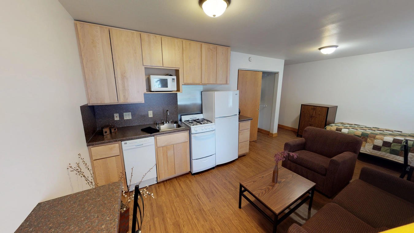 Studio 1 Bathroom Apartment for rent at Saxony Apartments in Madison, WI