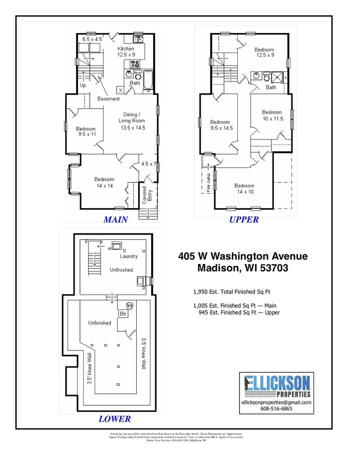 6 Bedrooms 2 Bathrooms House for rent at 405 W Washington Ave in Madison, WI