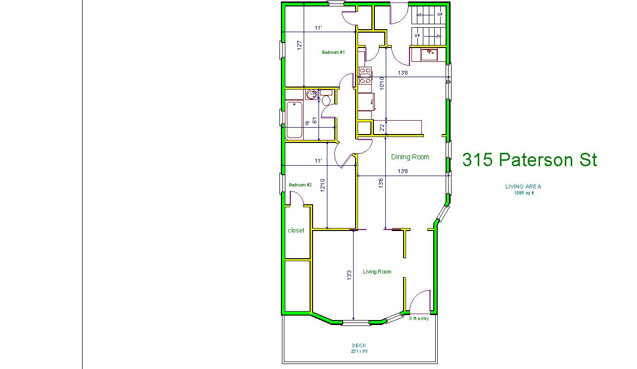 2 Bedrooms 1 Bathroom Apartment for rent at 315 N. Paterson St in Madison, WI