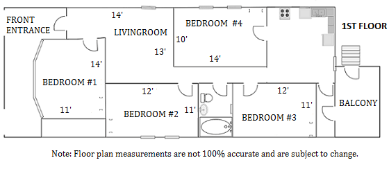 4 Bedrooms 1 Bathroom House for rent at 503 W. Washington in Madison, WI