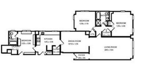 3 Bedrooms 2 Bathrooms Apartment for rent at Pierre Chouteau in St Louis, MO