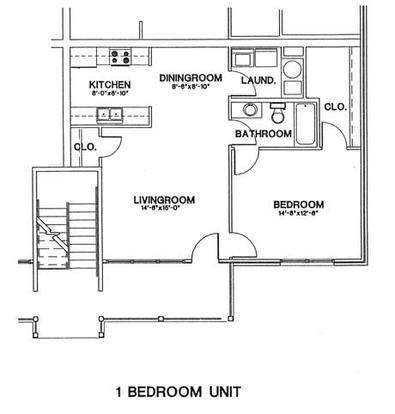 1 Bedroom 1 Bathroom Apartment for rent at Aspen Pines in Newport, KY
