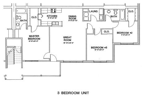 3 Bedrooms 2 Bathrooms Apartment for rent at Aspen Pines in Newport, KY