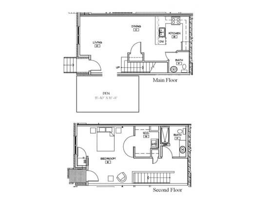 1 Bedroom 1 Bathroom Apartment for rent at West River Commons in Minneapolis, MN