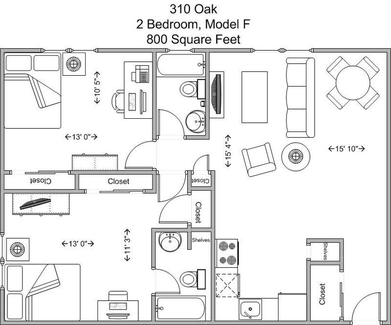 2 Bedrooms 2 Bathrooms Apartment for rent at 310 Oak in Cincinnati, OH