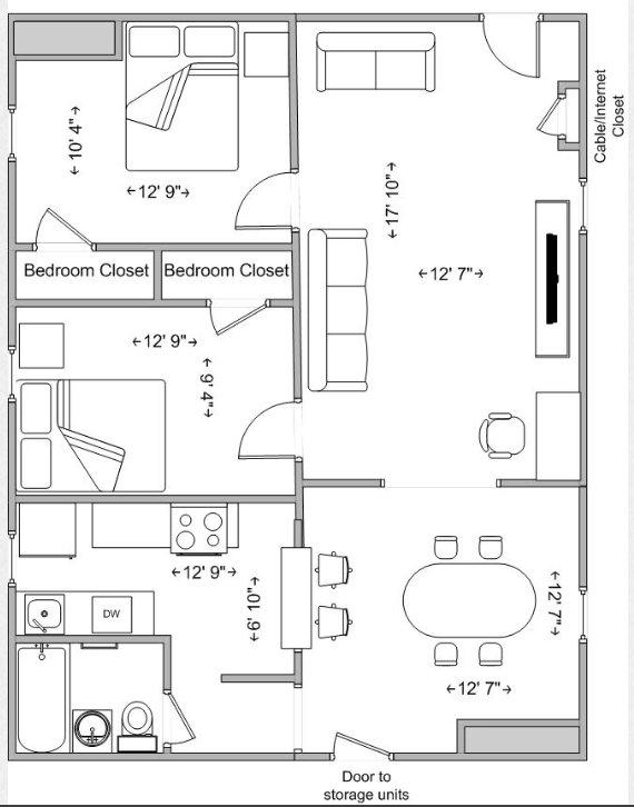 2 Bedrooms 1 Bathroom Apartment for rent at Ravenswood in Cincinnati, OH