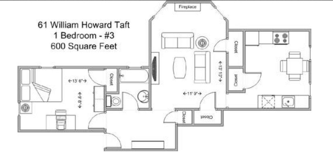1 Bedroom 1 Bathroom Apartment for rent at 61 Wht in Cincinnati, OH