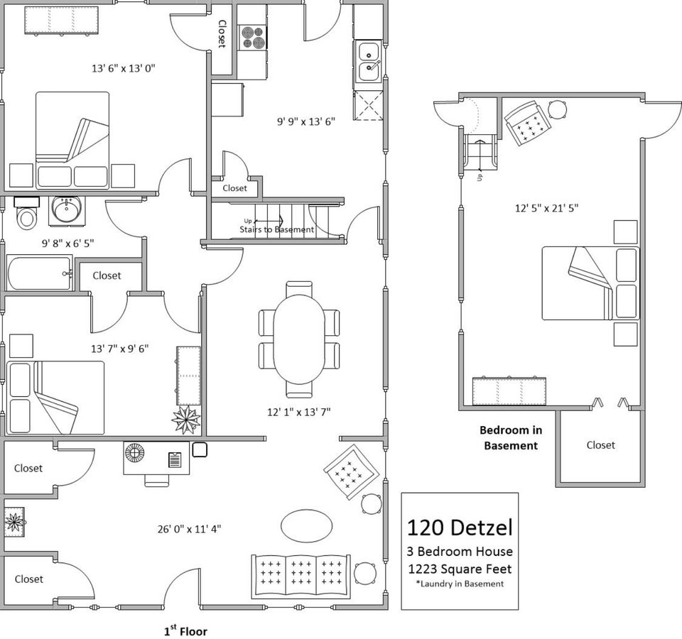 3 Bedrooms 1 Bathroom Apartment for rent at 120 Detzel in Cincinnati, OH