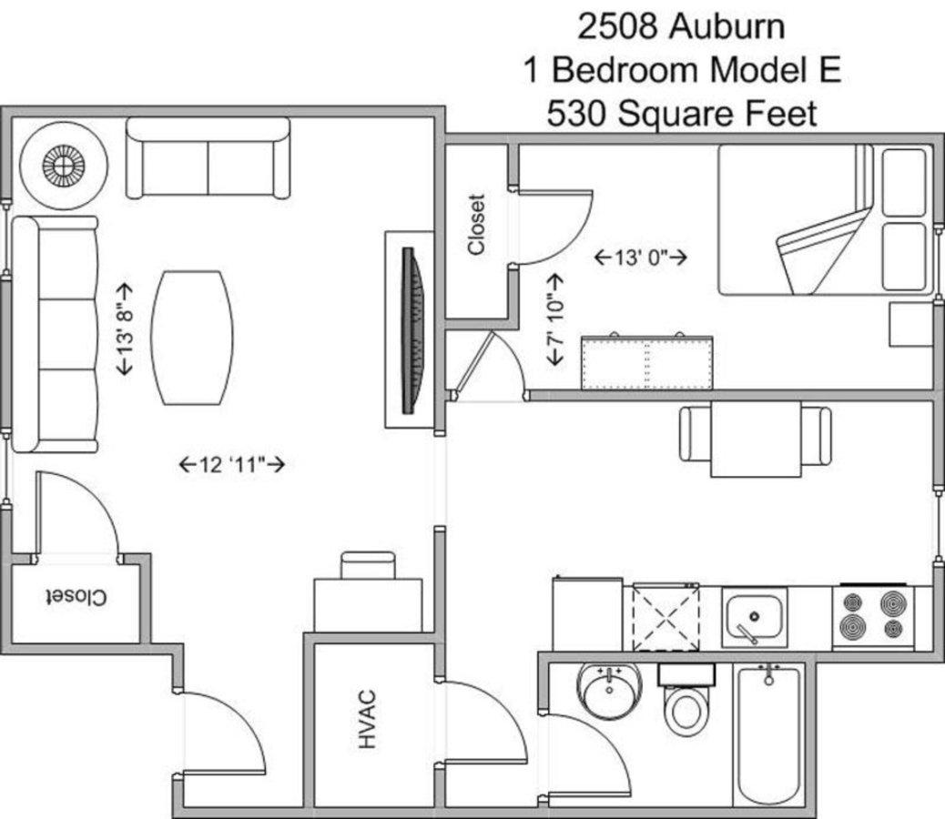 1 Bedroom 1 Bathroom Apartment for rent at The Auburndale in Cincinnati, OH