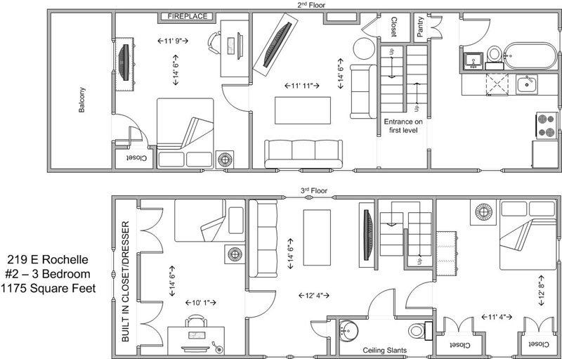 3 Bedrooms 1 Bathroom Apartment for rent at 219 E Rochelle in Cincinnati, OH