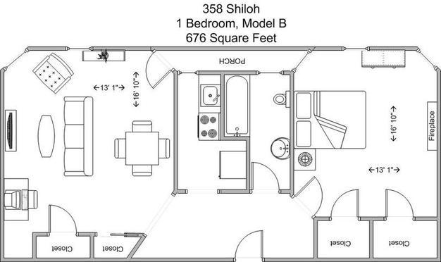 1 Bedroom 1 Bathroom Apartment for rent at 358 Shiloh in Cincinnati, OH
