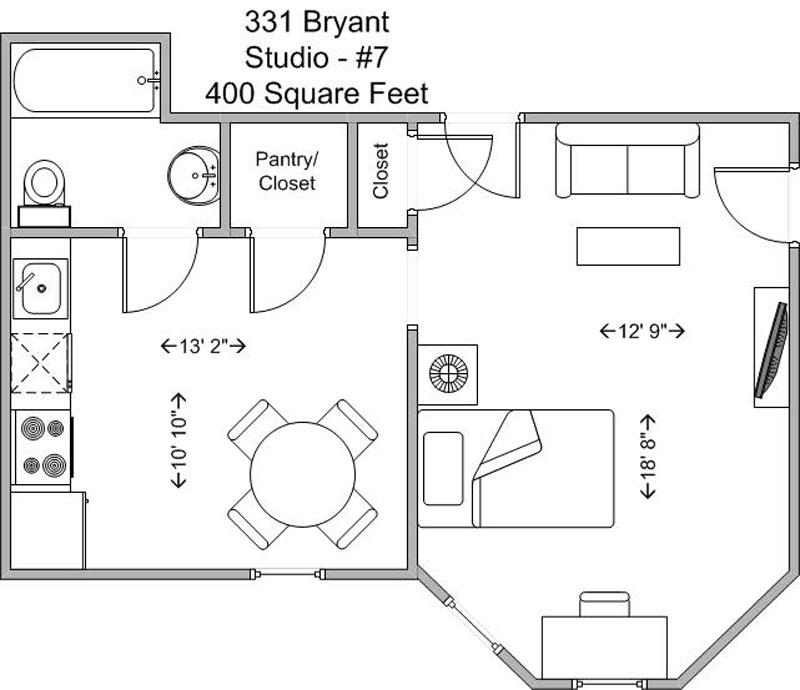 Studio 1 Bathroom Apartment for rent at 331 Bryant in Cincinnati, OH