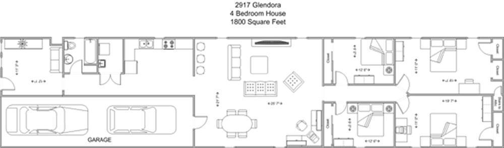4 Bedrooms 1 Bathroom House for rent at 2917 Glendora in Cincinnati, OH