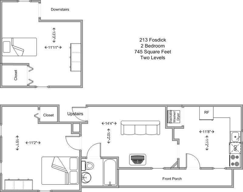 2 Bedrooms 1 Bathroom House for rent at 213 Fosdick in Cincinnati, OH
