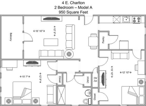 2 Bedrooms 1 Bathroom Apartment for rent at 4 E Charlton in Cincinnati, OH