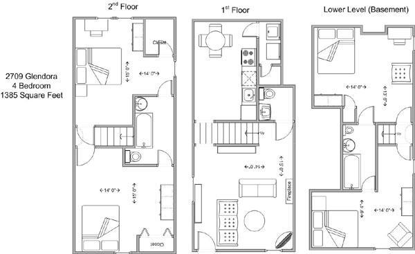 4 Bedrooms 2 Bathrooms House for rent at 2709 Glendora in Cincinnati, OH