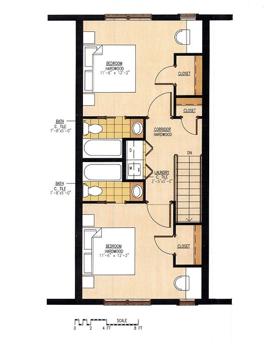 2 Bedrooms 3 Bathrooms Apartment for rent at Sutherland Flats in Knoxville, TN