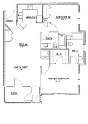 2 Bedrooms 2 Bathrooms Apartment for rent at Hawk's Landing in Verona, WI