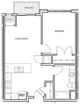 1 Bedroom 1 Bathroom Apartment for rent at The Dude Abodes in Madison, WI