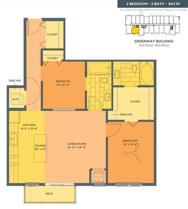 2 Bedrooms 2 Bathrooms Apartment for rent at Track 29 City Apartments in Minneapolis, MN