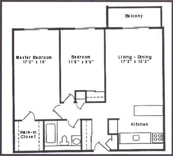 2 Bedrooms 1 Bathroom House for rent at Royal Oak Towers in Ferndale, MI