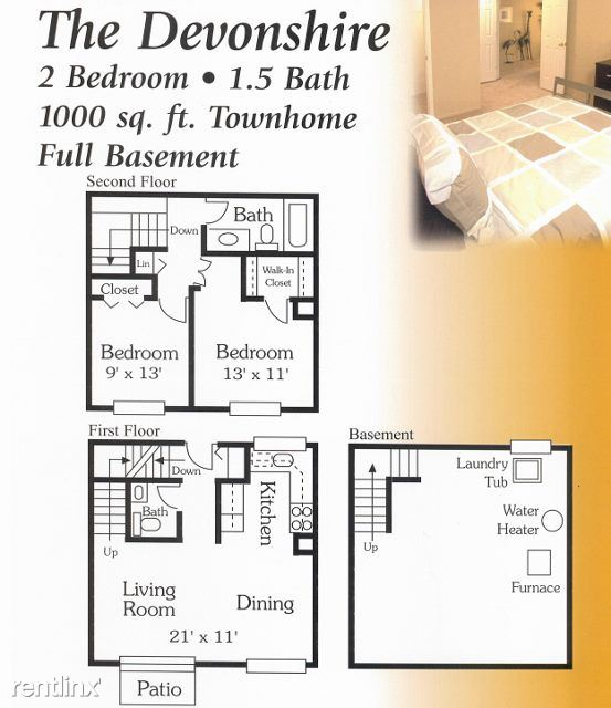 2 Bedrooms 1 Bathroom House for rent at Foxcroft Of Shelby in Shelby Township, MI