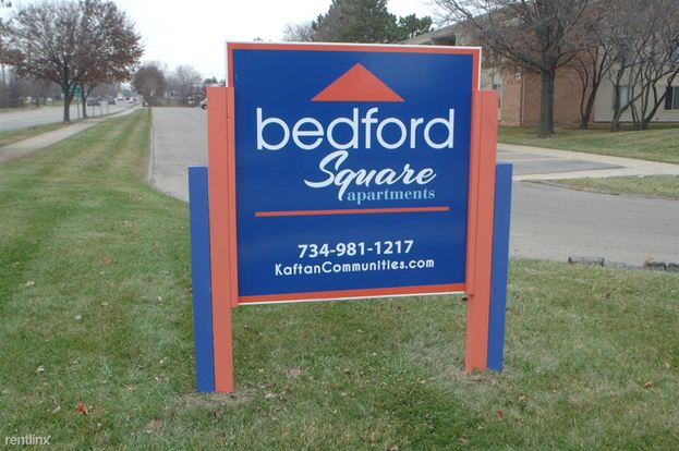 1 Bedroom 1 Bathroom Apartment for rent at Bedford Square in Canton, MI