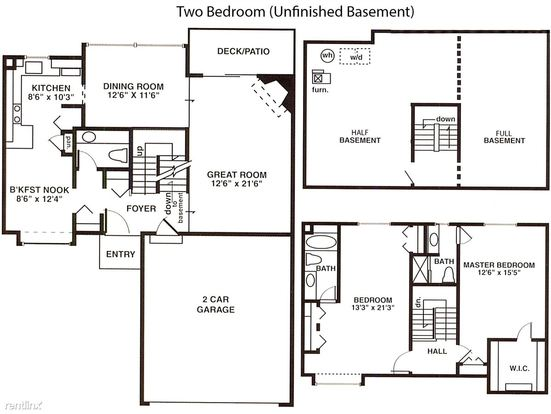 2 Bedrooms 2 Bathrooms House for rent at Weatherstone Townhomes in Southfield, MI