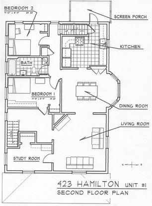 6 Bedrooms 2 Bathrooms Apartment for rent at 423 Hamilton Pl in Ann Arbor, MI