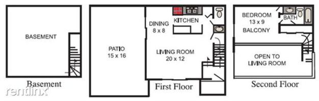 1 Bedroom 1 Bathroom Apartment for rent at Chapel Hill Apartments in Indianapolis, IN